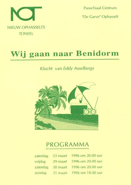 Nieuw Ophasselts Toneel - We gaan naar Benidorm (1996)