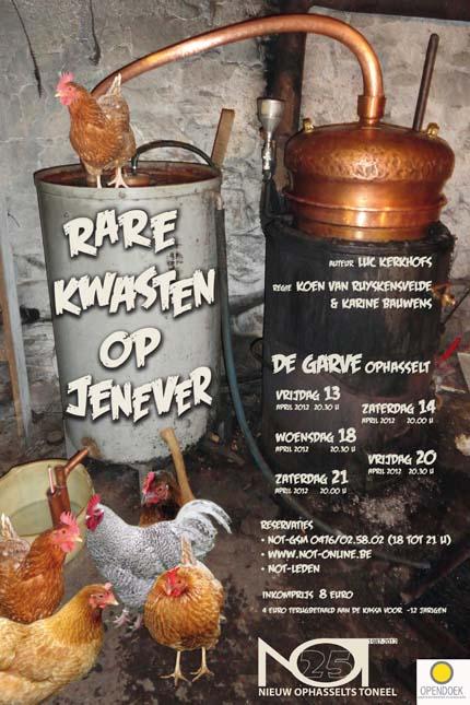 Nieuw Ophasselts Toneel - Rare kwasten op jenever (2012)