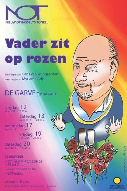 Nieuw Ophasselts Toneel - Vader zit op rozen (2013)