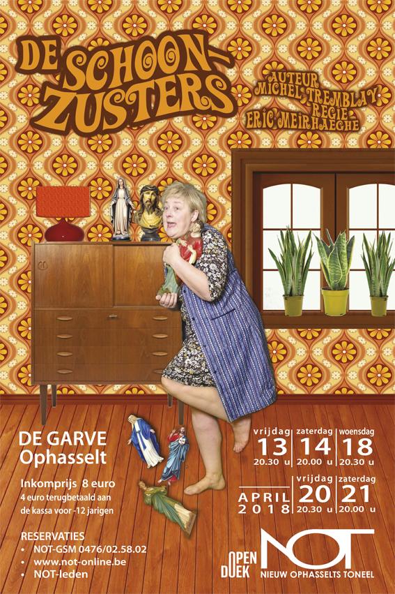 Nieuw Ophasselts Toneel - De schoonzusters (2018)